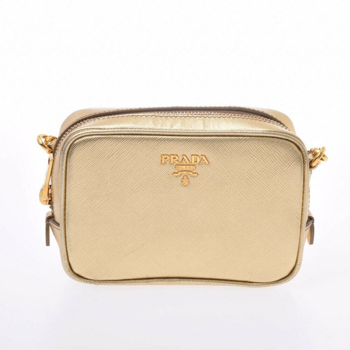 Prada \N Gold Leather handbag for Women \N