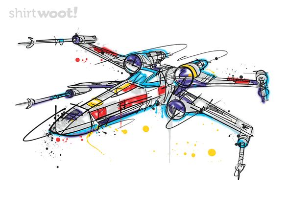 X-wing Pop T Shirt