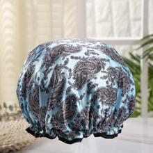 Duschhaube mit Paisley Muster