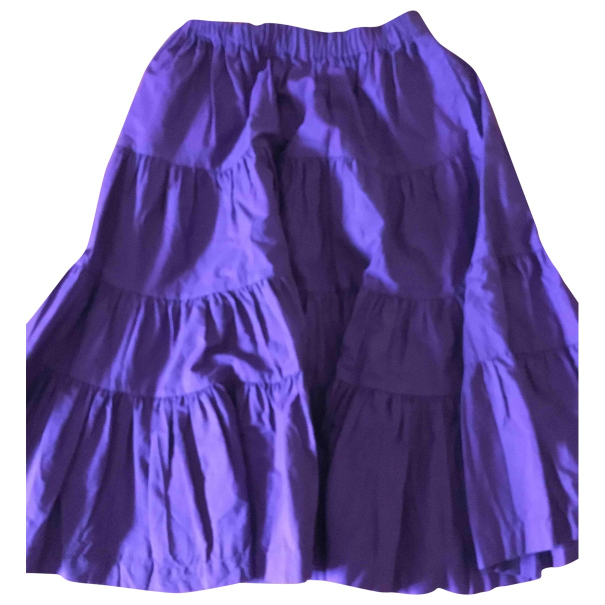 Comme Des Garcons \N Purple Cotton skirt for Women S International