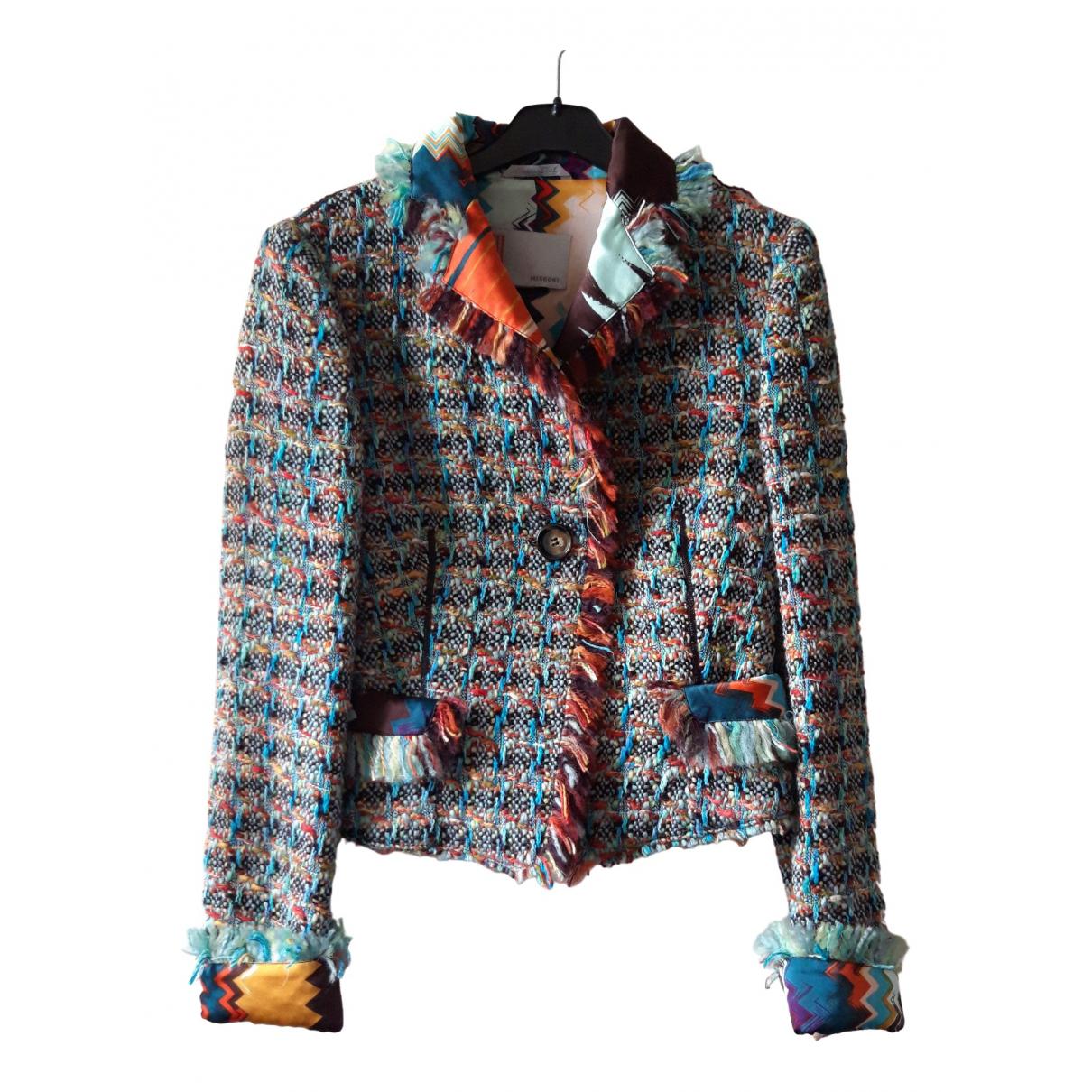 M Missoni \N Multicolour Wool jacket for Women 38 IT