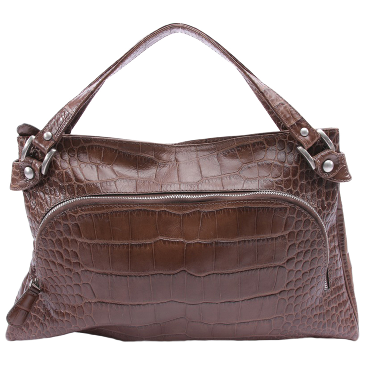Marni \N Brown Leather handbag for Women \N