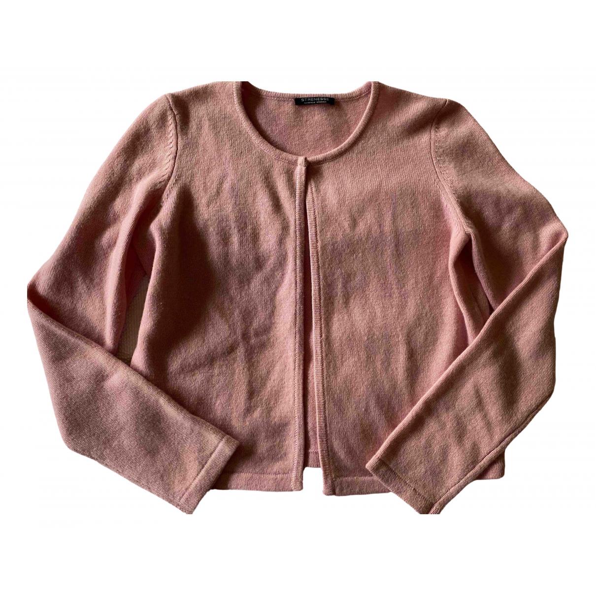 Strenesse \N Pullover in  Rosa Kaschmir