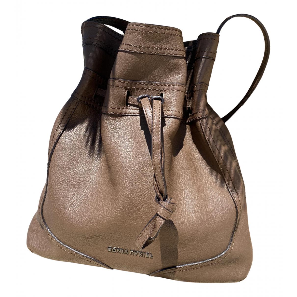 Sonia Rykiel N Brown Leather handbag for Women N