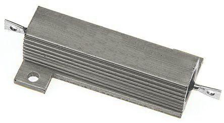 RS PRO Aluminium Housed Aluminium Power Resistor, 220Ω ±5% 50W (5)