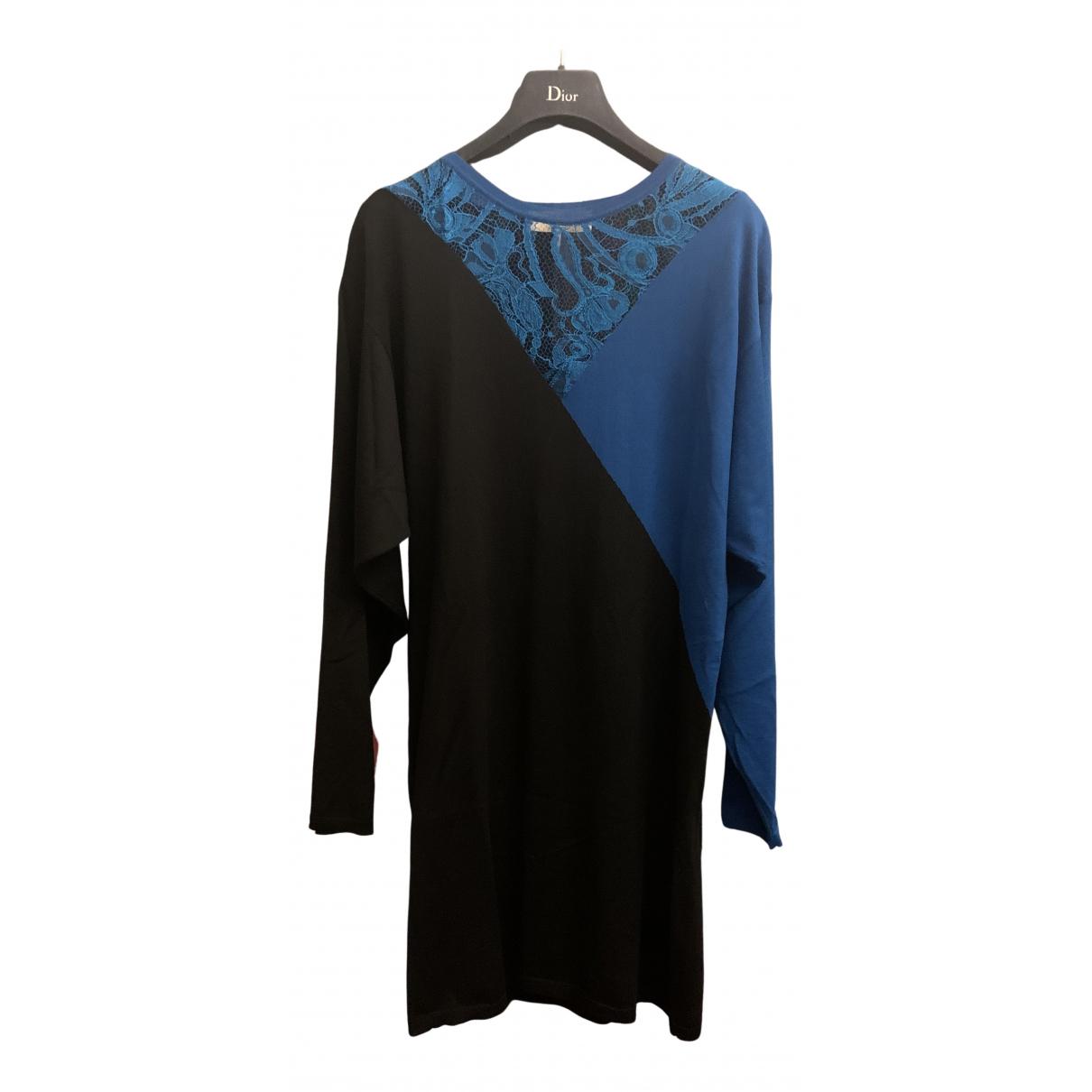 Emilio Pucci \N Kleid in  Schwarz Wolle