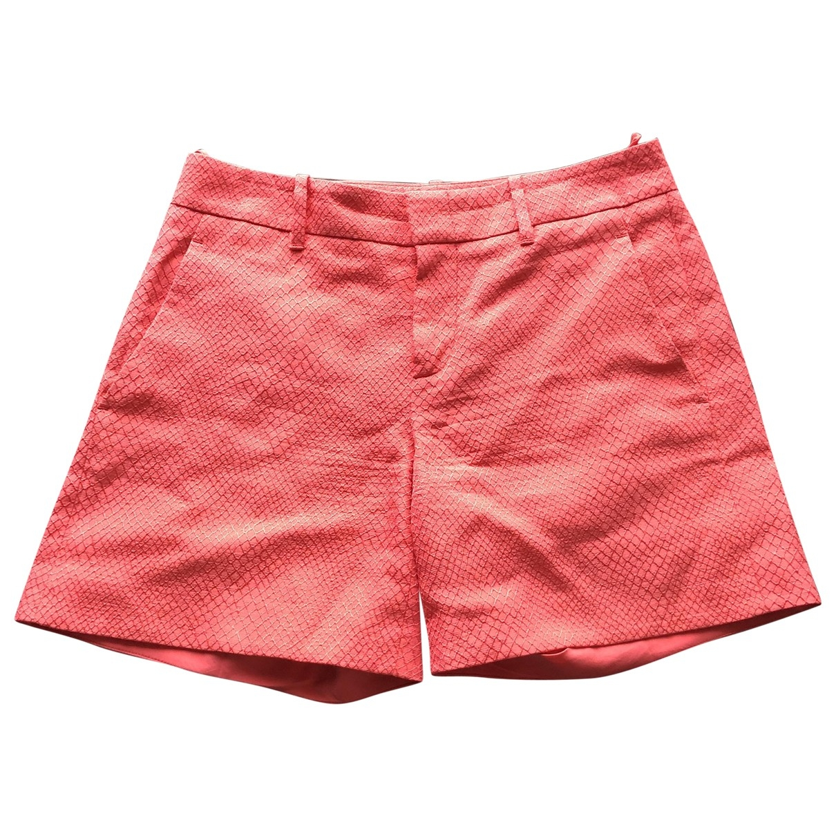 Gucci \N Pink Cotton Shorts for Women 36 IT