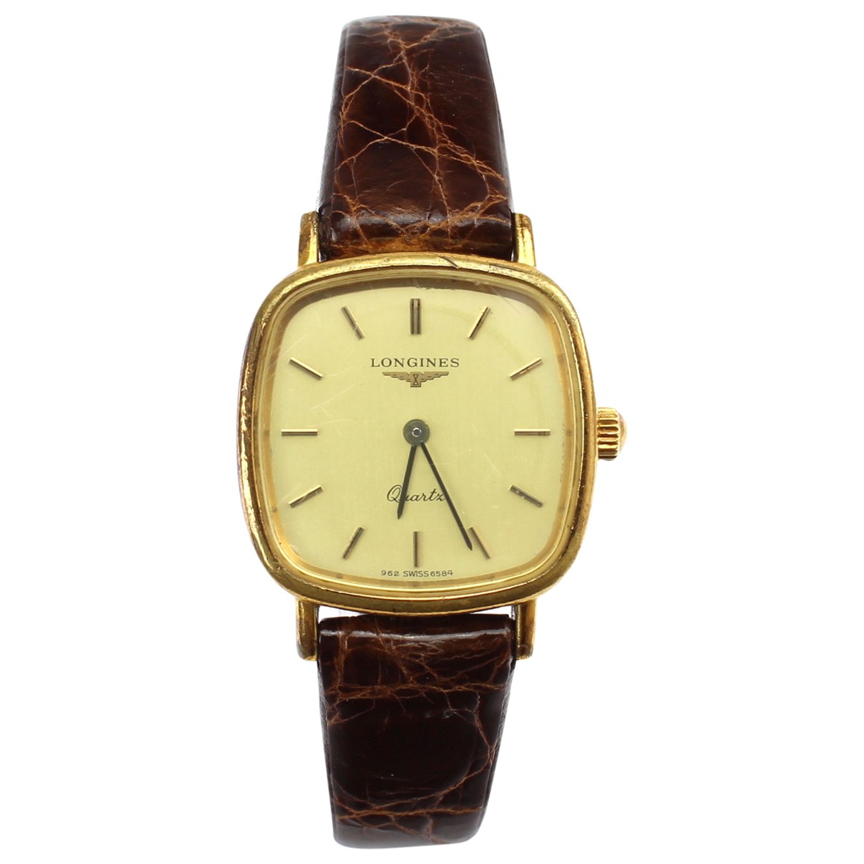 Longines \N Gold Gold plated watch for Women \N