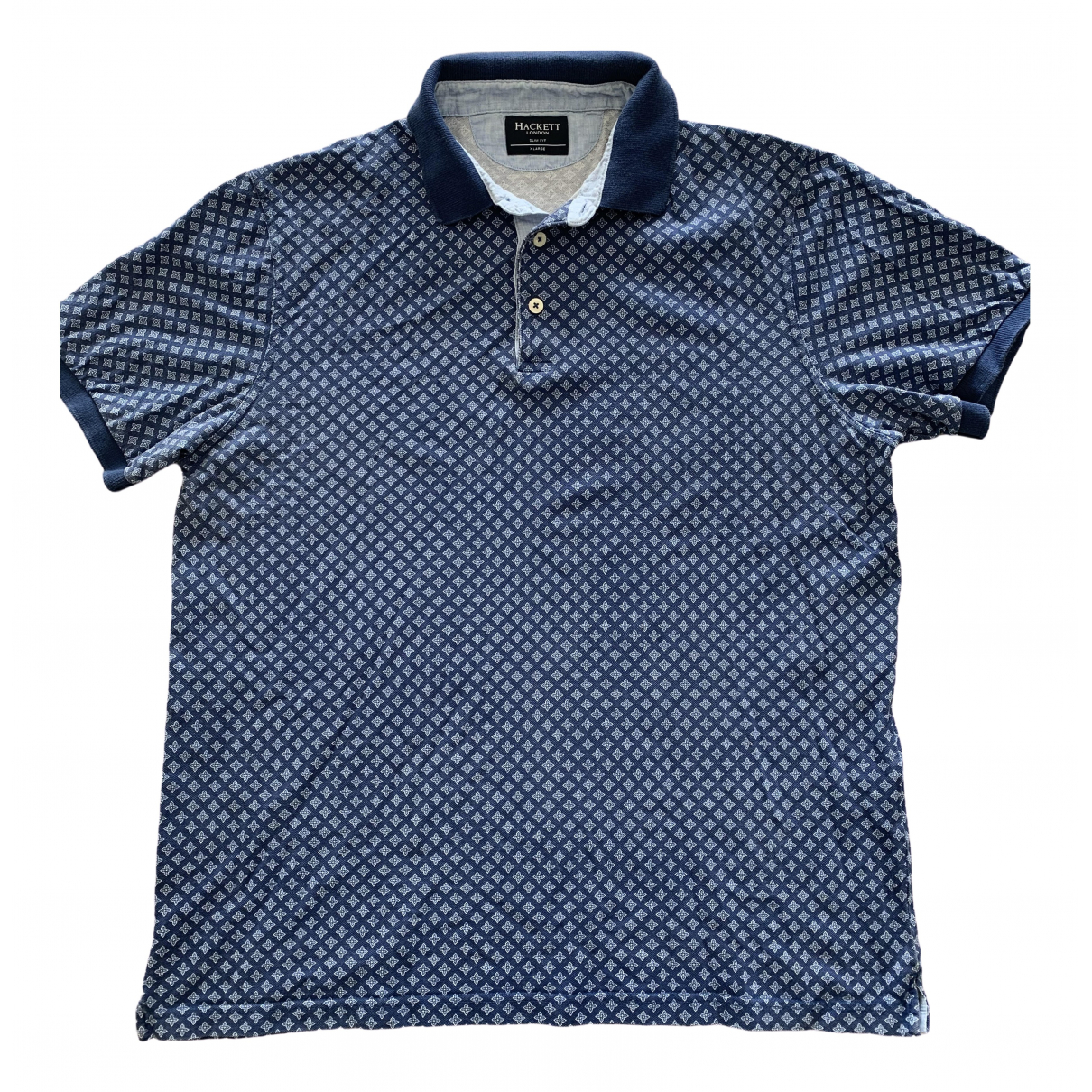 Hackett London \N Poloshirts in  Blau Baumwolle