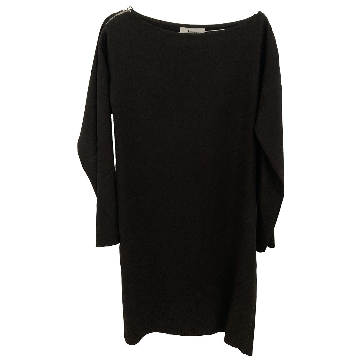 Bruuns Bazaar \N Kleid in  Schwarz Synthetik