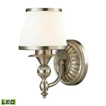 11600/1-LED Smithfield Collection 1 Light bath in Brushed Nickel -