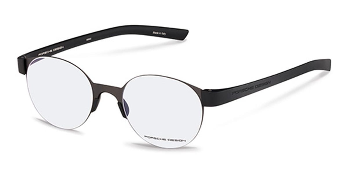 Porsche Design P8812 A Men's Glasses Grey Size 51 - Free Lenses - HSA/FSA Insurance - Blue Light Block Available