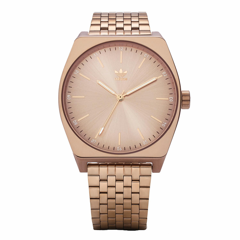 Adidas Mens Process M1 Z02 897-00 Rose-Gold Stainless-Steel Quartz Fashion Watch
