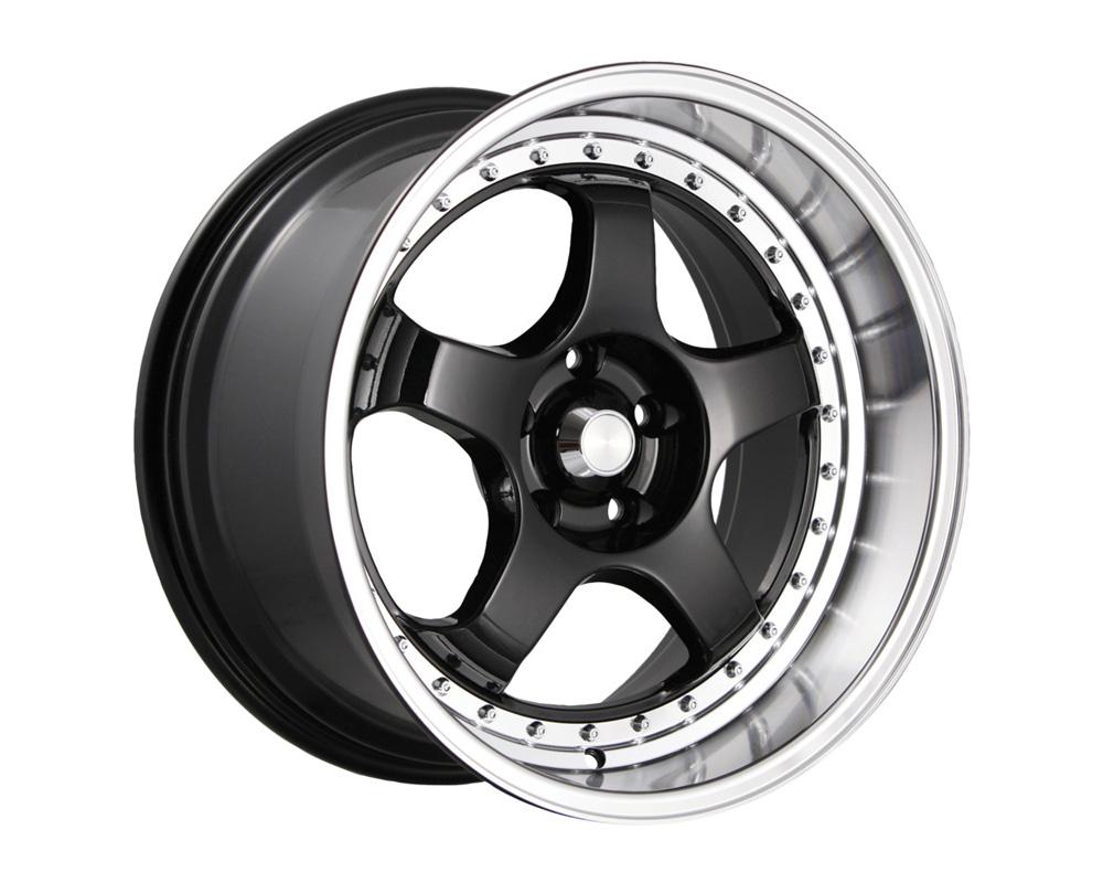 Konig SSM Gloss Black w/Machine Face Wheel 18x9 5x114.3 50
