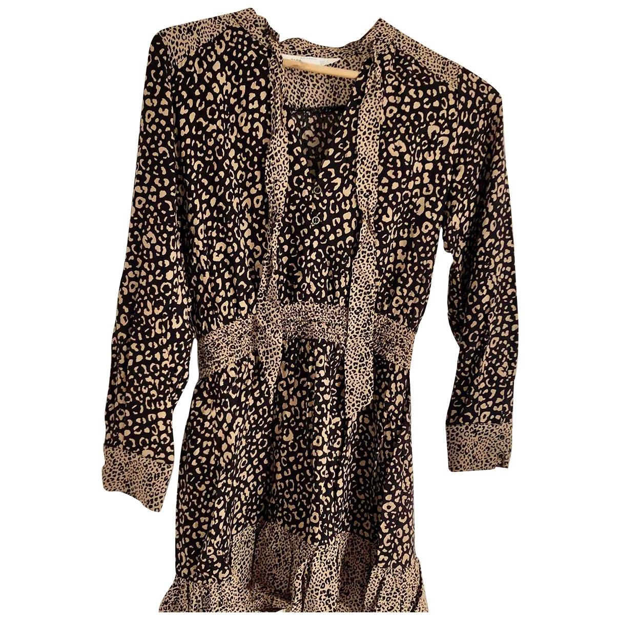 Zara \N Camel dress for Women 36 FR