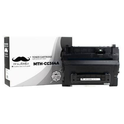 Compatible HP 64A CC364A cartouche de toner noire - Moustache@