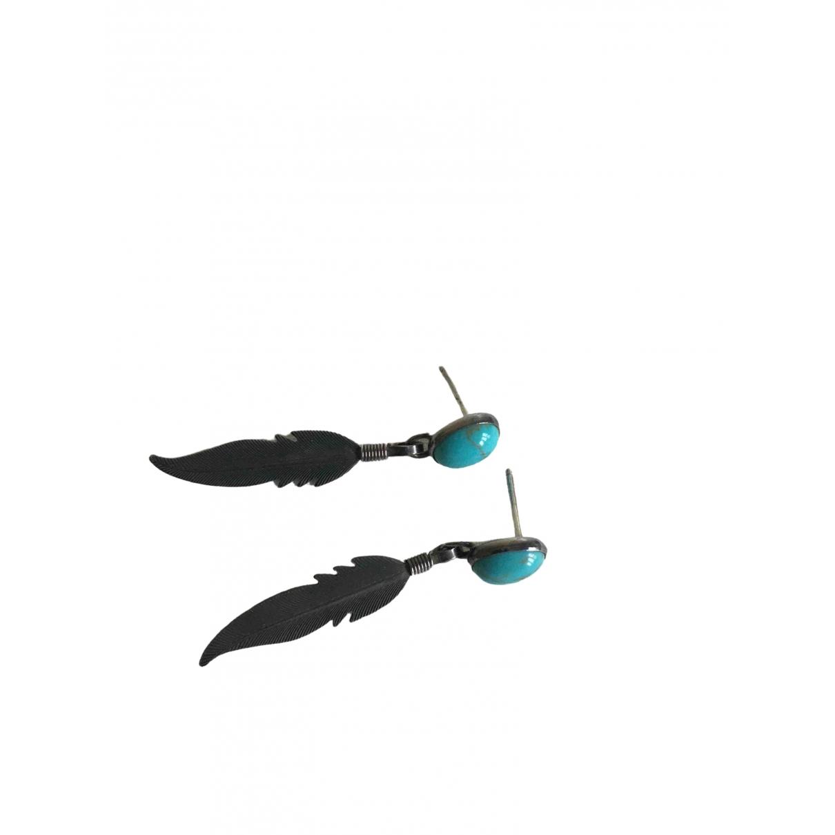 Harpo \N Green Silver Earrings for Women \N