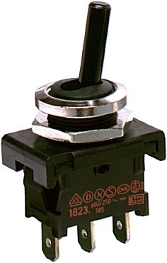 Marquardt SPDT Toggle Switch, On-Off-On, IP40, Panel Mount