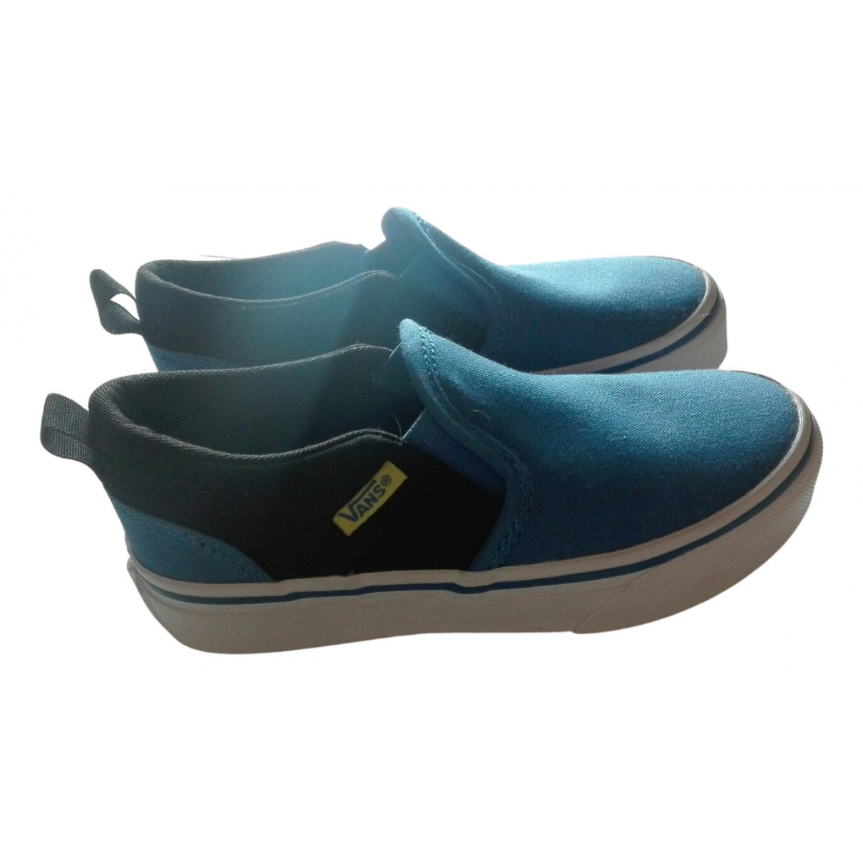 Vans N Blue Cloth Trainers for Kids 20 FR