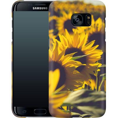 Samsung Galaxy S7 Edge Smartphone Huelle - Sunflower 2 von Joy StClaire