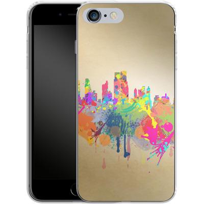 Apple iPhone 6 Plus Silikon Handyhuelle - New York Skyline von Mark Ashkenazi