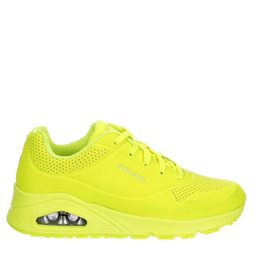 Skechers Womens Uno-Neon Nights Shoes Sneakers