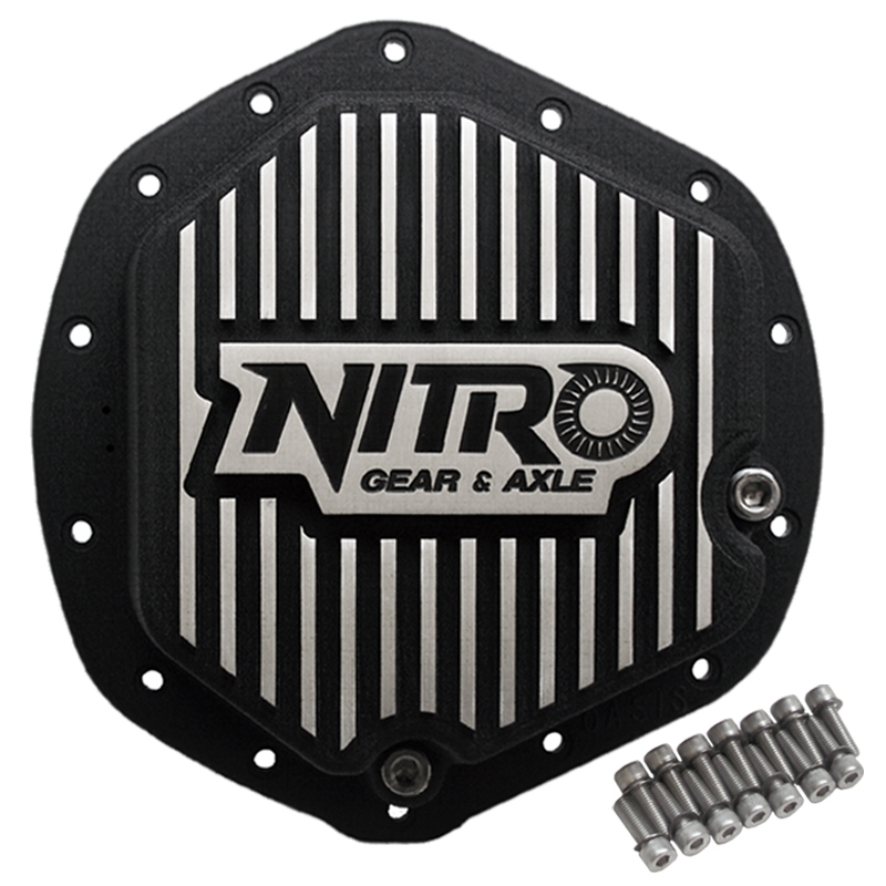 AAM 11.5 Inch Differential Covers Finned Nitro Gear and Axle