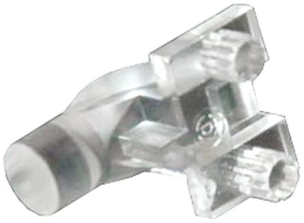 Dialight 515-1011F , PCB Mounted Right Angle LED Light Pipe, Clear Round Lens (10)
