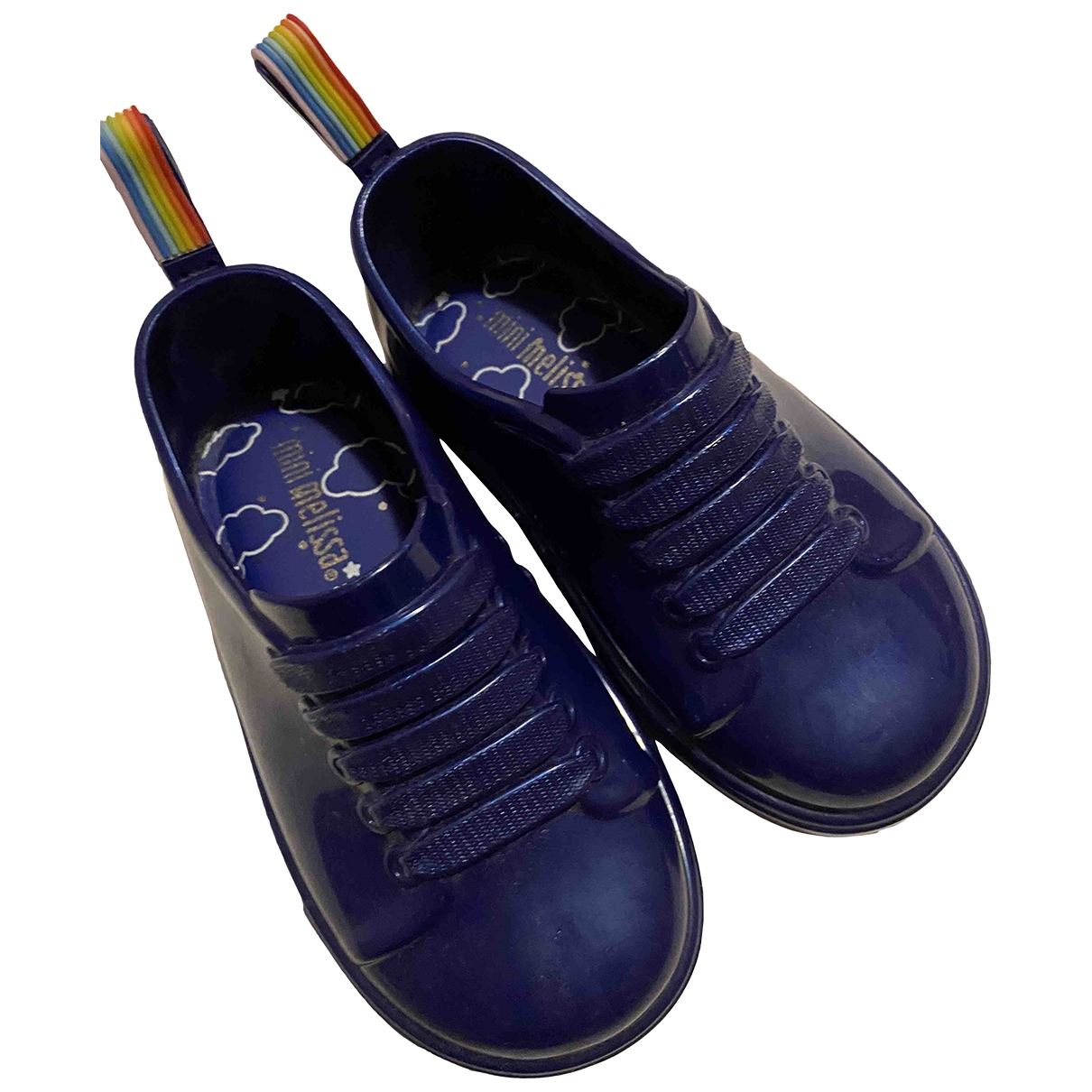 Melissa \N Blue Rubber Trainers for Kids 22 EU