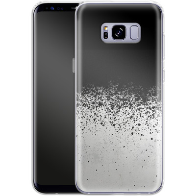 Samsung Galaxy S8 Plus Silikon Handyhuelle - Ink von SONY