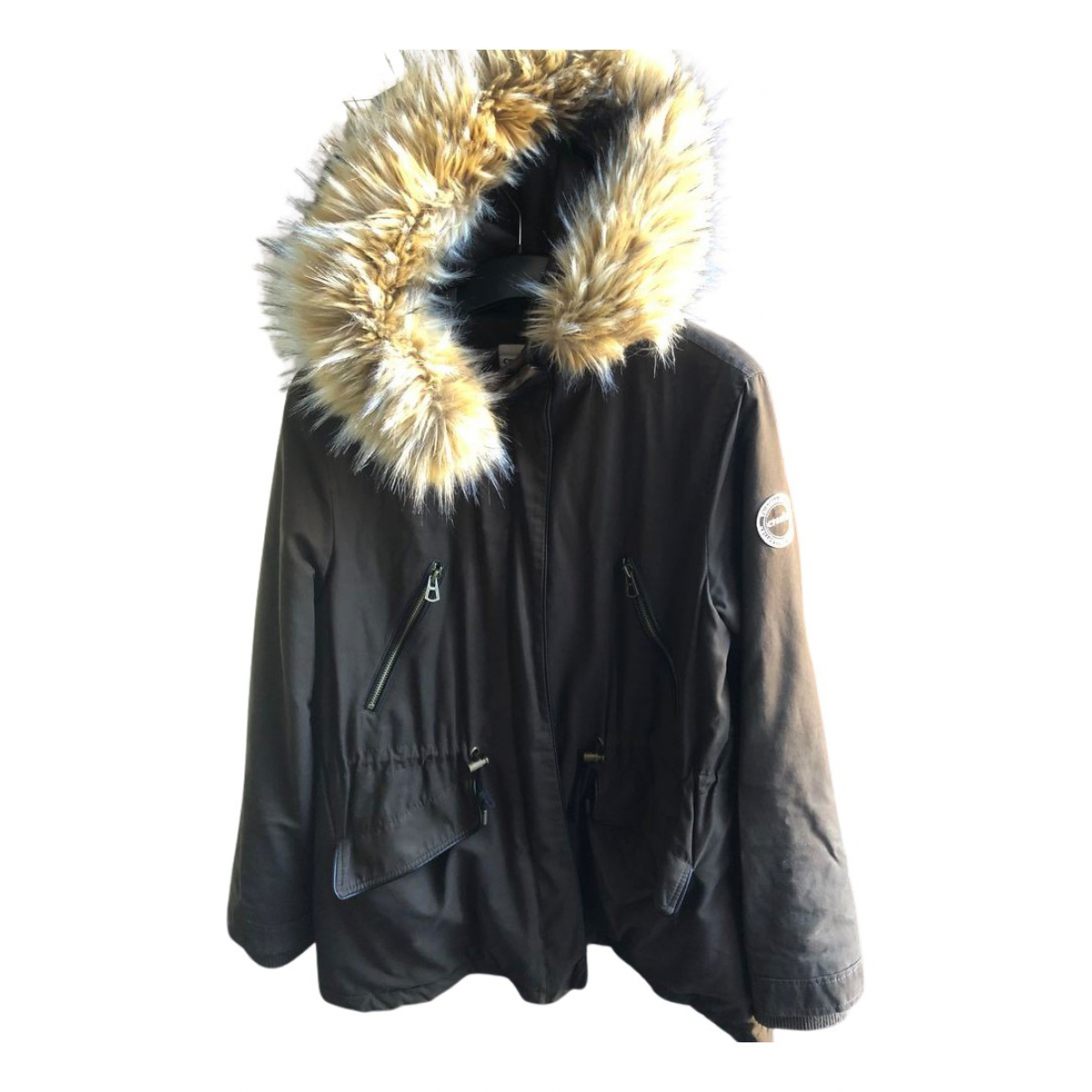 La Veste - Veste   pour femme en coton - noir