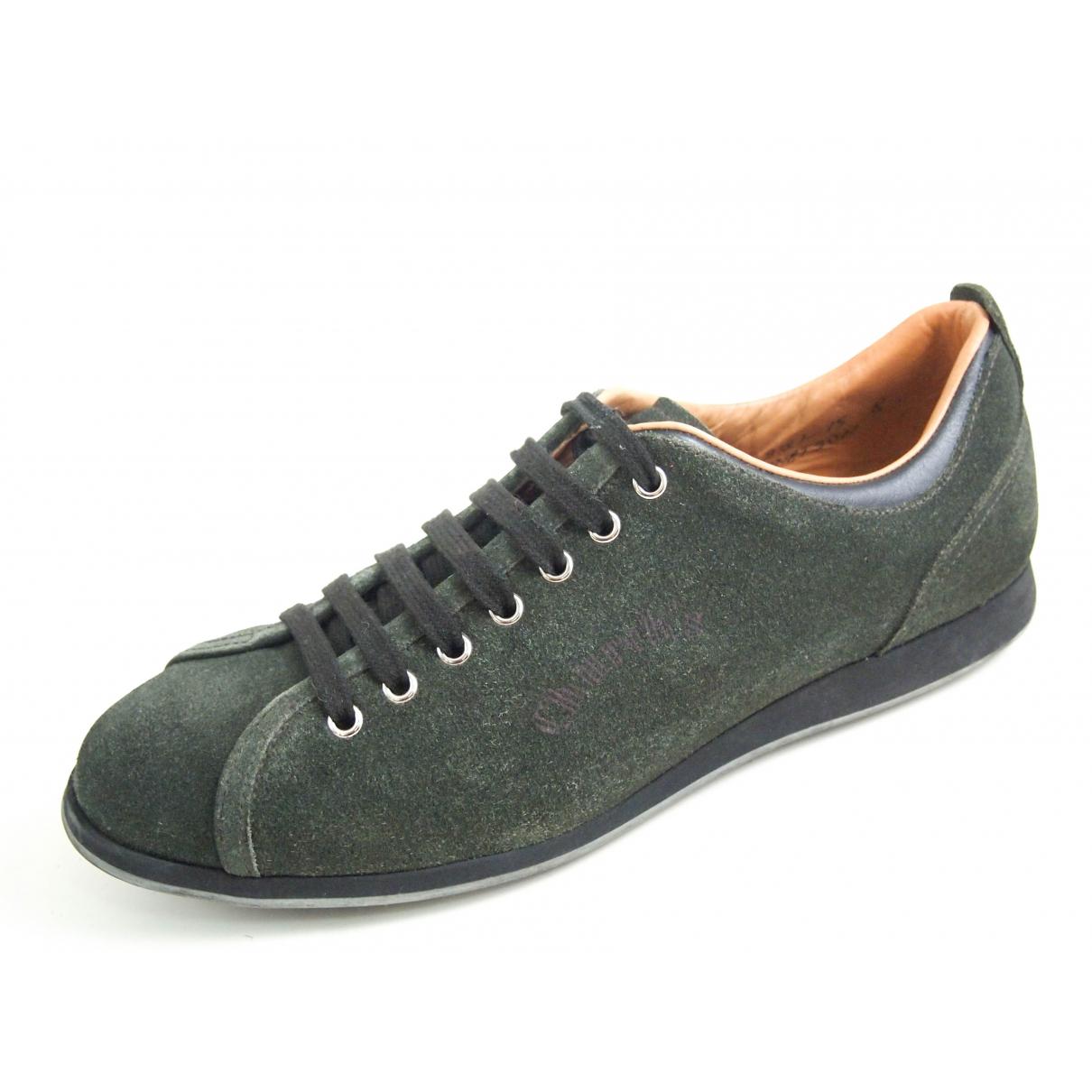 Churchs \N Sneakers in  Gruen Veloursleder