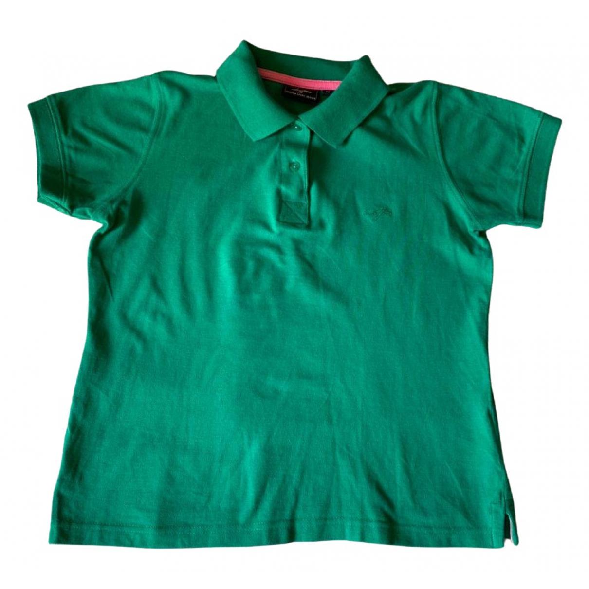 Lotto - Top   pour femme en coton - vert