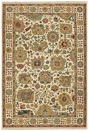 A12301305427ST Rectangle 10' X 14' Rug Pad with Oriental Pattern and Handcrafted