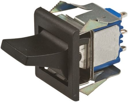 APEM Double Pole Double Throw (DPDT), On-On Rocker Switch Panel Mount
