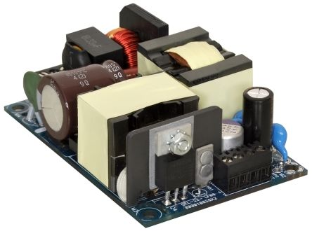 EOS , 75W Embedded Switch Mode Power Supply SMPS, 12V dc, Open Frame, Medical Approved