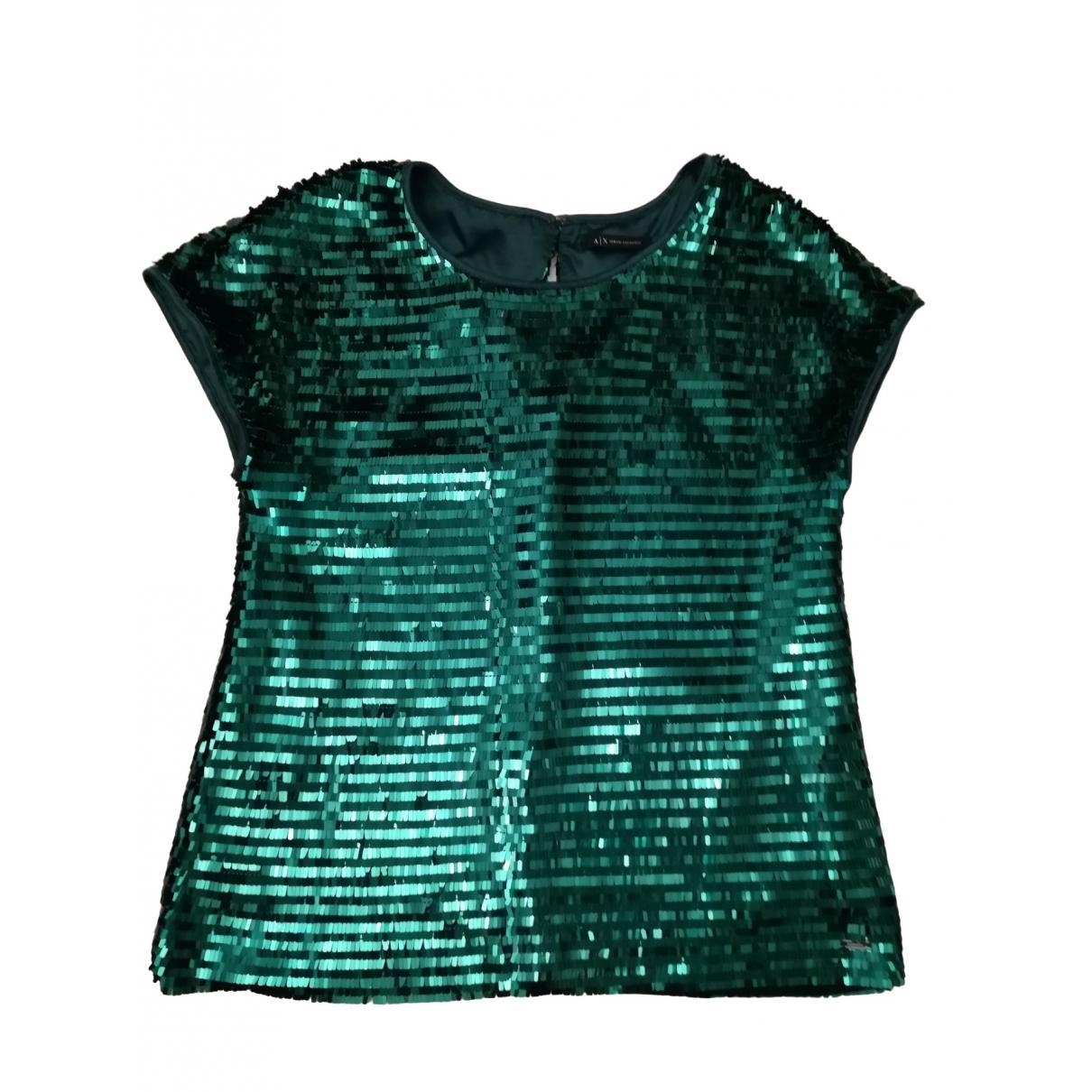 Emporio Armani \N Green  top for Women S International
