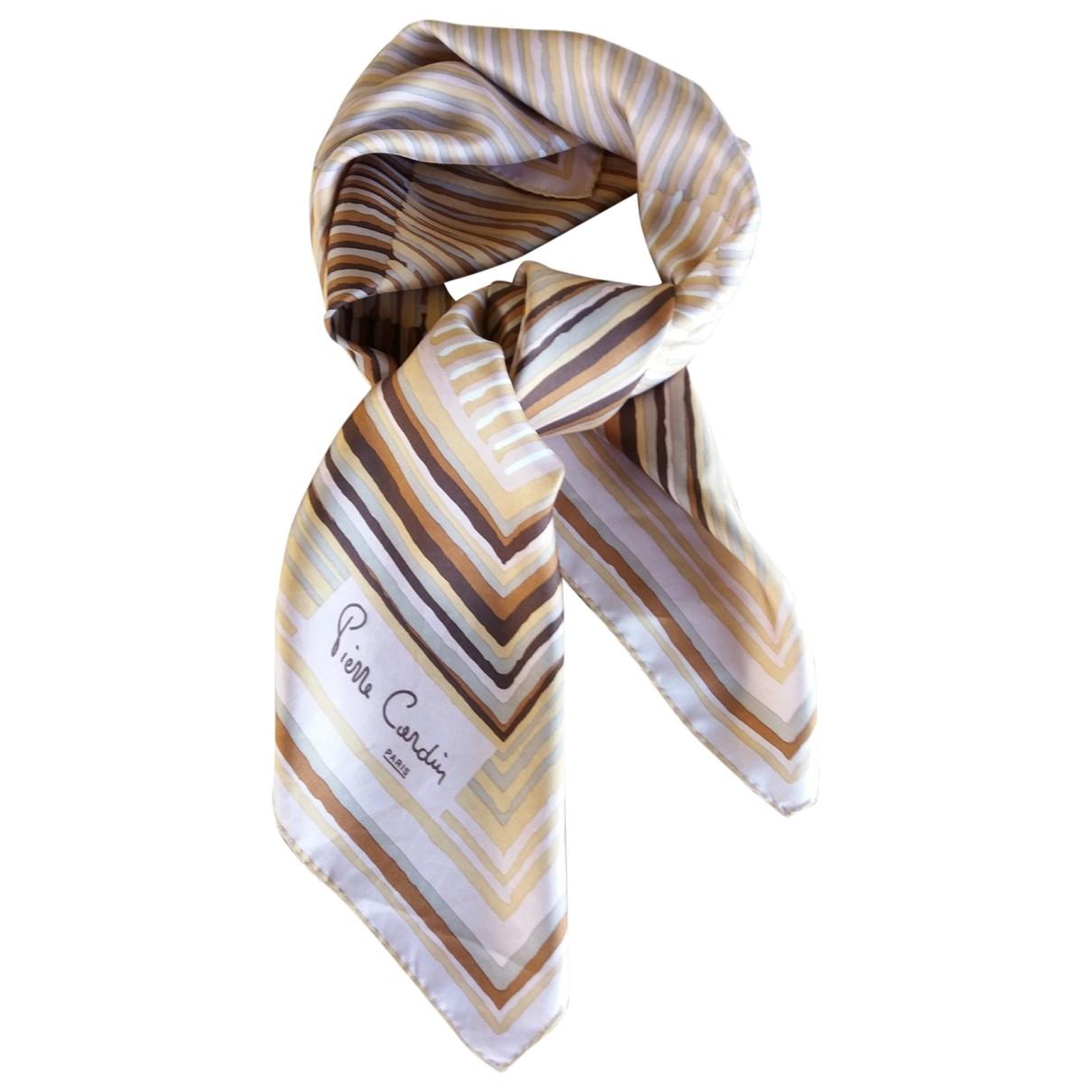Pierre Cardin \N Multicolour Silk Silk handkerchief for Women \N