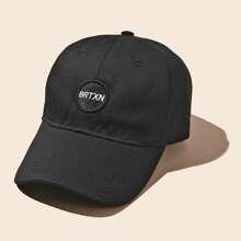 Baseball Kappe mit Stickereien Dekor