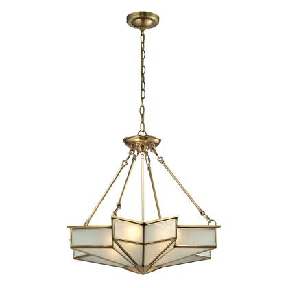 22012/4 Decostar Collection 4 Light Pendant in Brushed