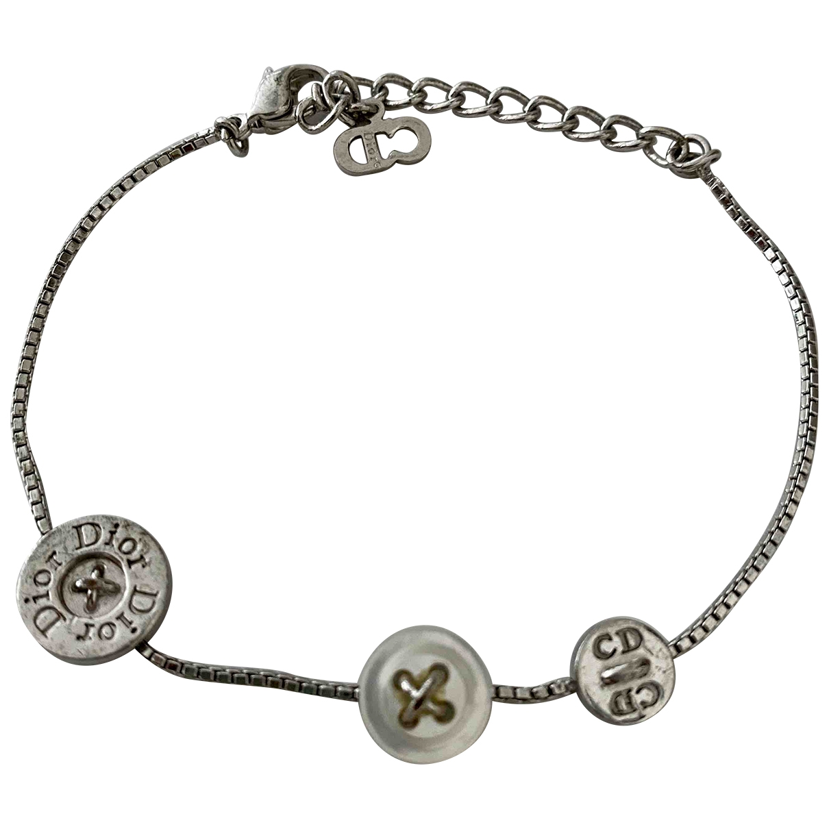Dior \N Armband in  Silber Stahl
