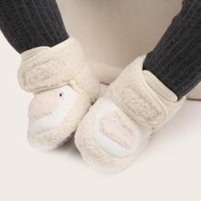 Baby Jungen Stiefeletten mit Schaf Muster