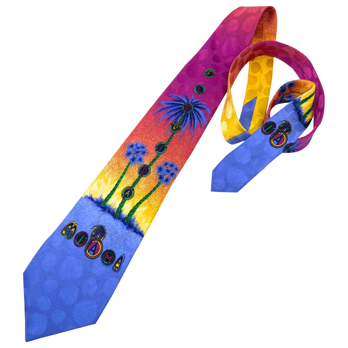 Gianni Versace \N Blue Silk Ties for Men \N