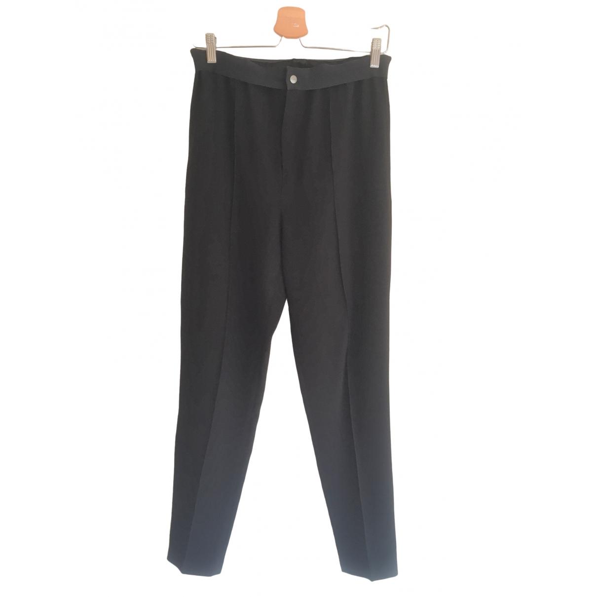 Isabel Marant Etoile \N Black Trousers for Women 40 FR