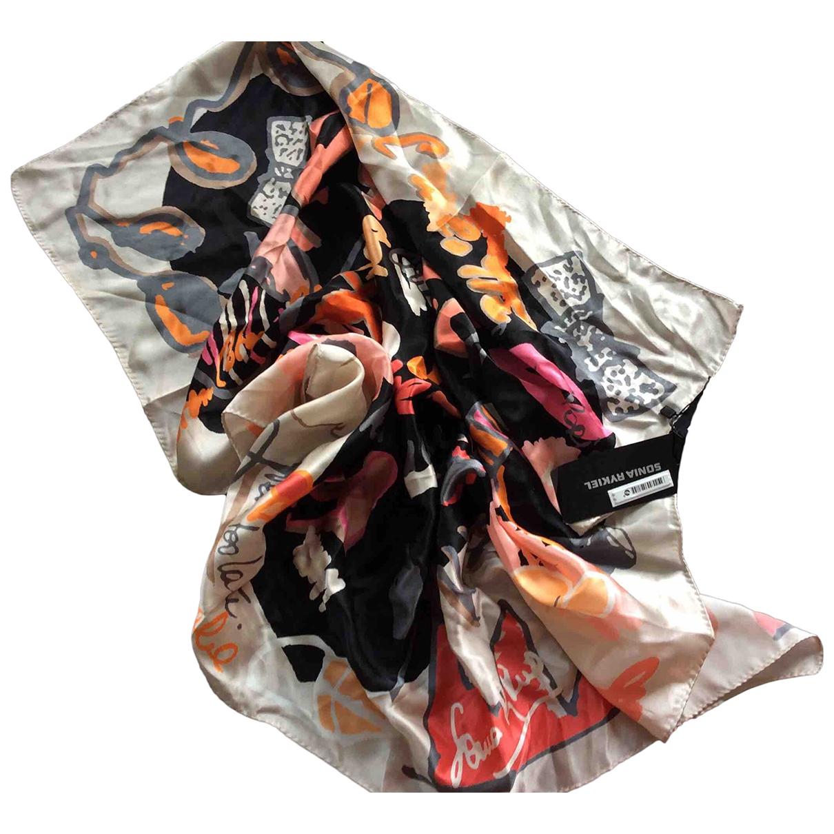 Sonia Rykiel - Carre   pour femme en soie