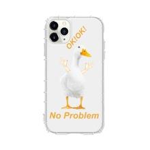 1 Stueck Transparente iPhone Huelle mit Ente Design