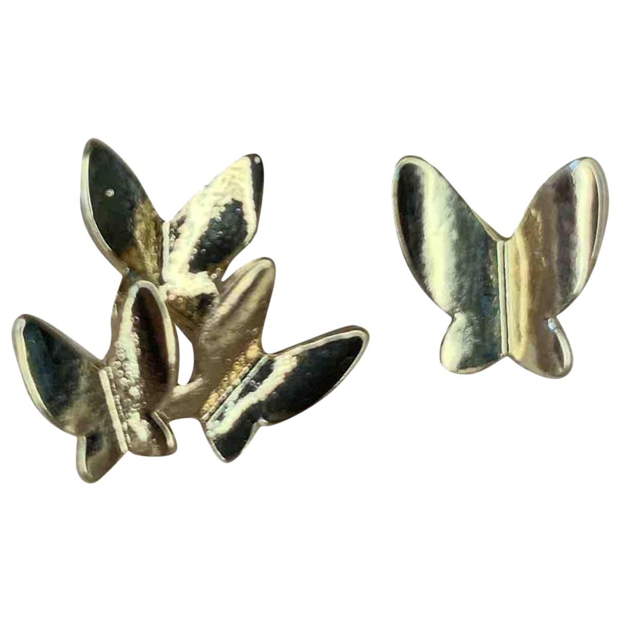 - Boucles doreilles Motifs Animaliers pour femme en metal - dore