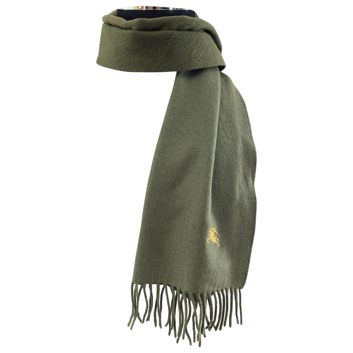 Burberry - Foulard   pour femme en cachemire - vert