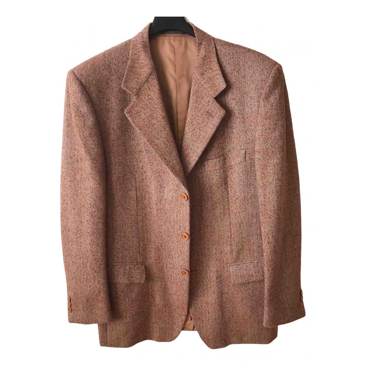 Yves Saint Laurent N Brown Wool jacket  for Men 50 IT