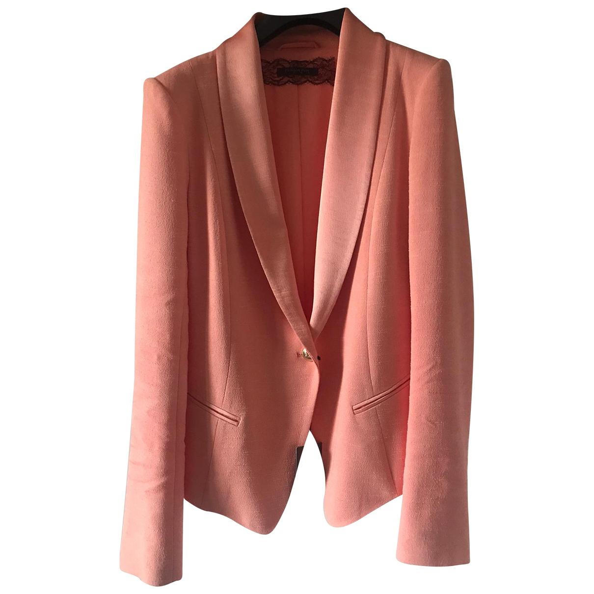 Patrizia Pepe \N Pink jacket for Women 42 IT